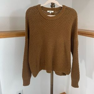 Madewell French Quarter Sweater In Rust